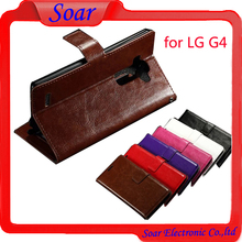 Book style Flip cover case for LG G4,Wallet leather case for LG G4