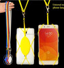 silicone lanyard cell phone holder