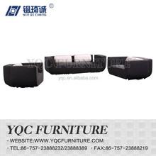 Y1090# hot sale Italian style big arm fabric sectional sofa