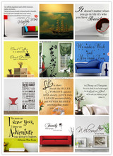 Wall Quotes Decal Words Lettering Saying Wall Decor Sticker Vinyl Wall Art Stickers Decals