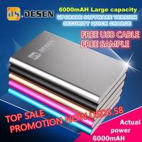 2015 flashlight 6200mah universal power bank charger for gift