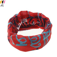 Motorcycle style tube shaped bandana