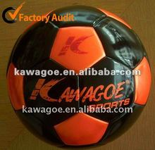 Inflatable soccer pitch/leater soccer balls professional