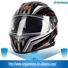 Full Face Free Motocycle built-in BT intercom Helmets Ski Helmet With Bluetooth Speakers Heeadset
