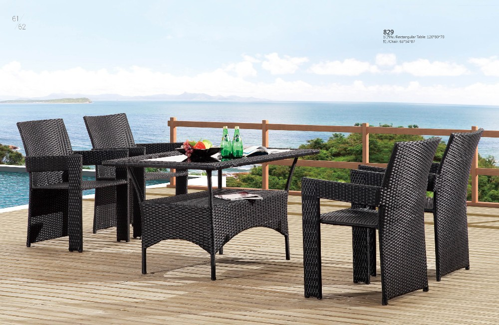 High End Rattan Furniture Leisure Outdoor Table And Chair Buy Leisure Table
