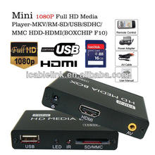Newest High Definition Full HD Media Player Autoplay Mini 1080P Video Player