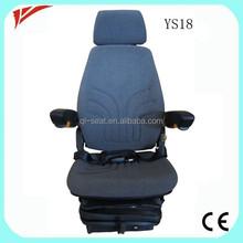 Universal high back comfortable crawler bucket wheel excavator seat