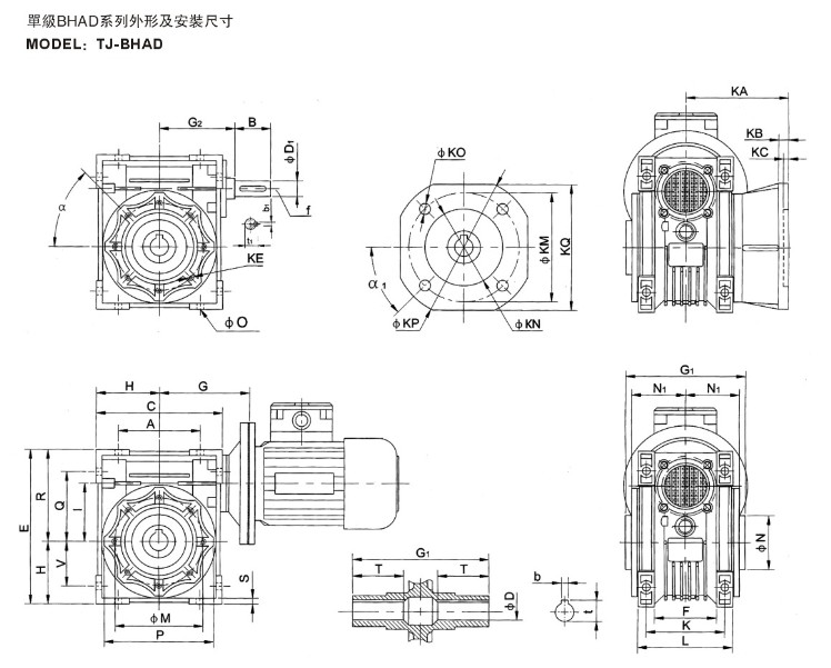 Made in China 2.2 kw three phase motor