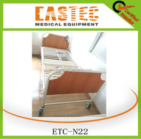 2 function electric medical cheap folding home care hospital bed