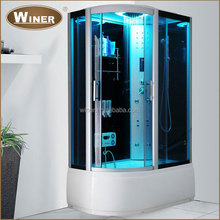 Luxury massage acrtlic indoor personal steam room price with whirlpool shower room