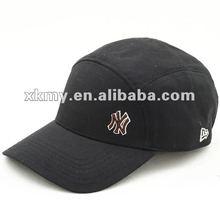 2012 new style black 5 panel sports caps