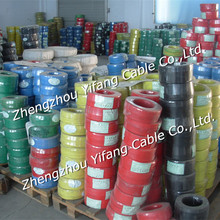 Soft copper conductor PVC insulated THW Cable