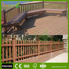 2015 hot sale new design composite garden fence panel with great price, folding pet fence, dog fence