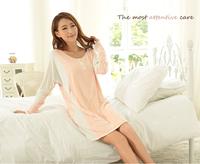 100%cotton formal comfortable girls sexy sleepwear