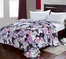 Printed Coral Fleece Blanket/bed sheet