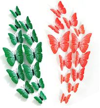 3D Art DIY for Home Decoration, Butterfly Shape Wall Sticker