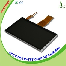 """Standard 3.5"""", 4.3"""", 5"""", 7 inch multipoint capacitive touch screen"""
