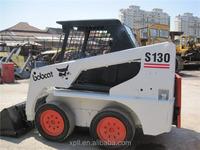 small mini skid steer loader S130 used bobcat Japan original for sale