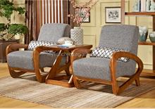 singel modern sofa with arc arm