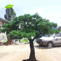BTR039 GNW ornamental artificial pine trees for indoor decoration