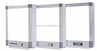 Negatoscope X-ray film viewer with switch