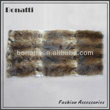 High quality muskrat skin fur plate