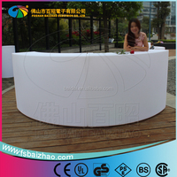 glowing furniture led table Lit bar counter for sale