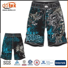 2015 moisture wicking dry rapidly fit all over print MMA fight boxing shorts