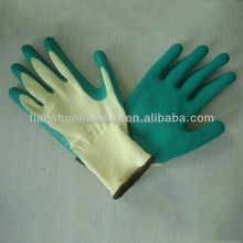 Working Cotton Palm Safety Industrial Latex Rubber gloves