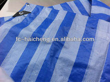 pe tarpaulin waterproof bag material/fabric,pe woven fabric,waterproof canvas poly tarps