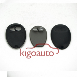Replacement fob shell L2C0007T keyless entry blank car key cover for GM/GL8/Pontiac