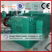 Biomass briquetting high efficiency round shape coal briquette machine for sale