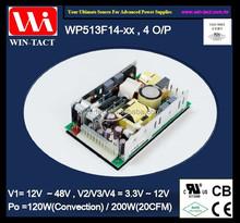 Atx switching power supply 12v 3.3v 5v -12v multi output 200w