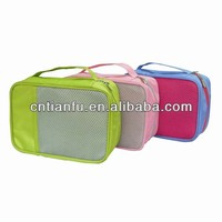 2014 fashion China manufacturer polyester travel toilet bag