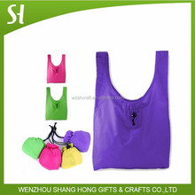hottest recycled polyester foldable bag,foldable shopping bag,foldable tote bag
