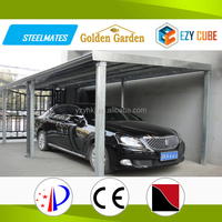 High Quality portable easy building Used modern metal carport For Sale