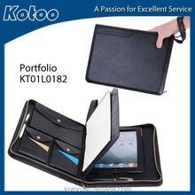 zipper portfolio for ipad case with handle, for zipper folder ipad case