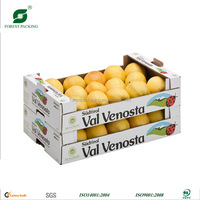 CHEAP WHOLESALE CUSTOMIZED CORRUGATED PACKING BOX FOR FRUIT VEGETABLES