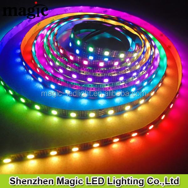 60Pixel/m 60leds/m RGB DC5V WS2811 WS2812 WS2812B LED STRIP LIGHT