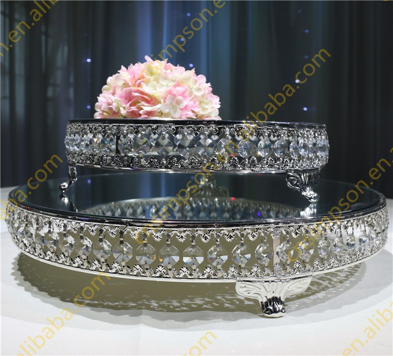 Trade Cake Stands : Wholesale glass cake stand wedding silver buy