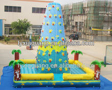 high quality PVC inflatable climbing jungle/inflatable climbing wall