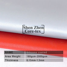 reinforced fiberglass fabric silicone