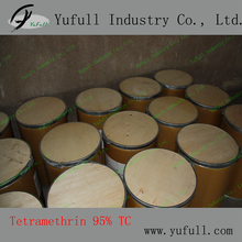 Mosquito coil used pyrethroid insecticides Manufacturer 95% TC Tetramethrin