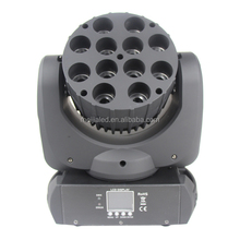 12pcs X 10W 4 in 1 stage light mixer