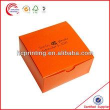 Custome Colorful Paper Cardboard Cupcake Packaging