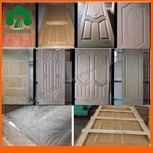 Teak /Sapelli/ Ash / red oak wood veneer Door Skin