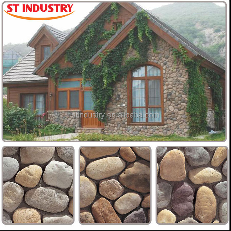 Decorative Stone Siding For Homes : Faux landscaping stone cladding tile panels cultured