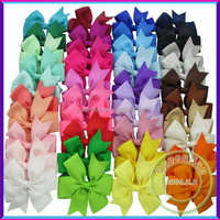 In Stock Baby Girls' Boutique Ribbon PinWheel HairBows,Cheerleading Bows/Hair Clips/Bows Hair Pins Hair Accessories