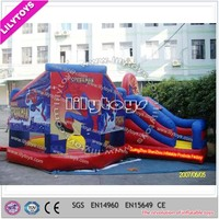 High Quality Durable PVC inflatable bouncer game slide for sale