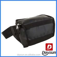 Black sturdy portable camera waist travel bag